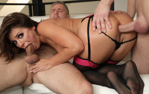 Adriana Chechik - Double-Anal Threesome [Evil Angel] - August 15, 2020