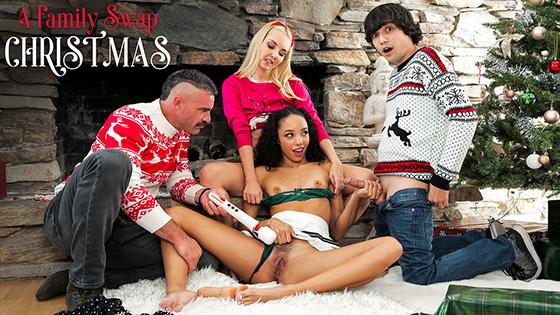 Aaliyah Love, Alexis Tae - A Family Swap Christmas [Family Swap] - December 21, 2020