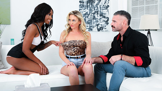 Adira Allure, Lacey London - Fucking The Neighbors [Devil