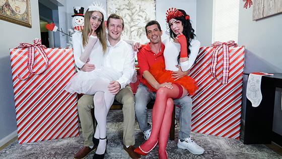 Alice Pink, Kyler Quinn - Christmas Swap [Daughter Swap] - December 15, 2020