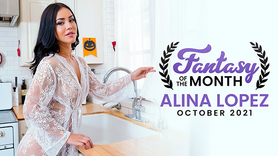 Alina Lopez - October 2021 Fantasy Of The Month [Nubile Films] - October 20, 2021