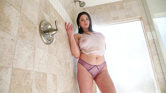 Alyx Star - Busty Alyx Star Soaps Her Tits and Spread Her Legs [Elegant Angel] - February 21, 2021