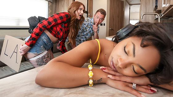 Aria Kai - The Road Trip: Raunchy RV-ing [Brazzers Exxtra / Brazzers] - May 26, 2021