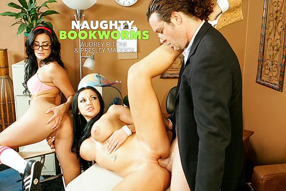 Audrey Bitoni, Presley Maddox - Naughty Bookworms [Naughty Bookworms] - May 10, 2021