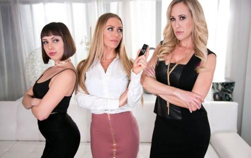 Brandi Love, Jenna Sativa, Nicole Aniston - Showcases: Brandi Love - 2 Scenes In 1 [Girlsway] - August 28, 2020