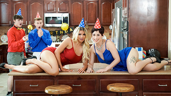 Brooklyn Chase, Olive Glass - Birthday Swap Surprise [Mom Swap] - September 28, 2021