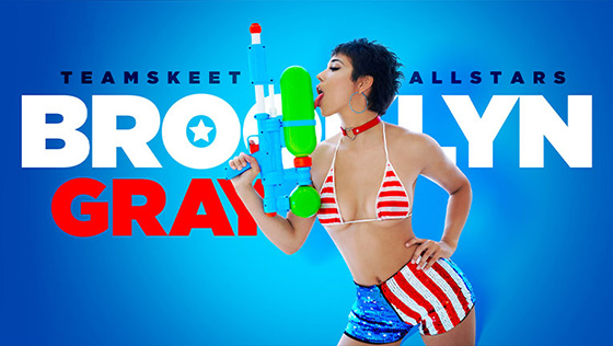 Brooklyn Gray - A Naughty 4th Of July [Team Skeet Allstars] - July 18, 2021