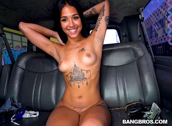 Camila Cortez - Colombian Baddie Fucks For Cash [Bang Bus / Bang Bros] - June 7, 2021