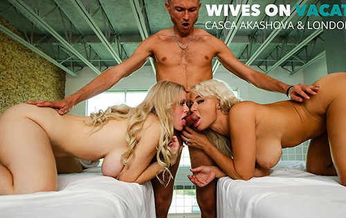 Casca Akashova, London River - Wives On Vacation [Wives On Vacation / Naughty America] - September 30, 2020