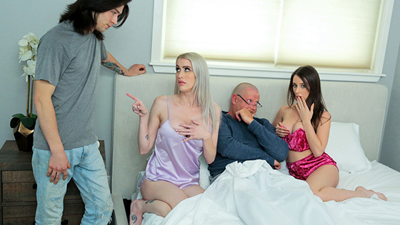 Charly Summer, Katie Monroe - Taking Care Of Swap Dad On Fathers Day [Family Swap] - June 30, 2021