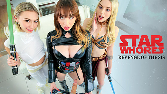 Chloe Temple, Lily Larimar, Quinn Wilde - Star Whores Revenge Of The Sis [Princess Cum] - May 6, 2021