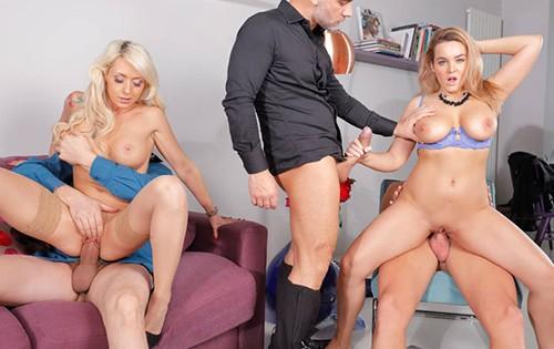 Christina Shine, Natasha Nice - Office Sex 2 [Hustler] - August 9, 2020