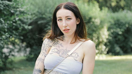 Esluna - A Blowjob for a Free Tattoo [Public Agent] - April 26, 2021