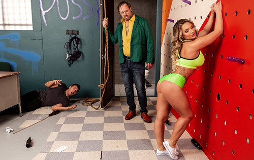 Cali Carter - Going Down In A Blaze Of Gloryholes [Big Butts Like It Big / Brazzers] - May 18, 2020