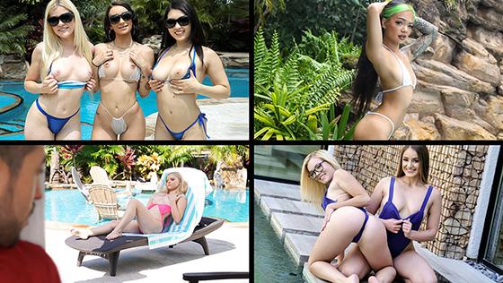 Gina Valentina, Jenna Foxx, Paisley Paige, Alessia Luna - Bikini Babes [Team Skeet Selects] - April 8, 2021