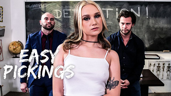 Gwen Vicious - Easy Pickings [Pure Taboo] - January 6, 2021