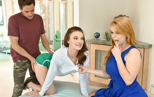 Jaycee Starr, Penny Pax - Embrace The Ginger And They Will Cum [MYLF X TeamSkeet] - September 19, 2020