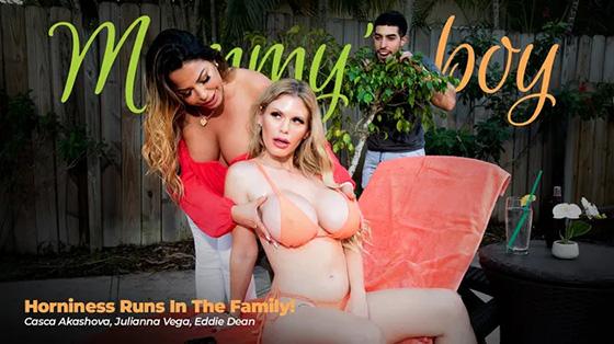 Julianna Vega, Casca Akashova - Horniness Runs In The Family [Mommy