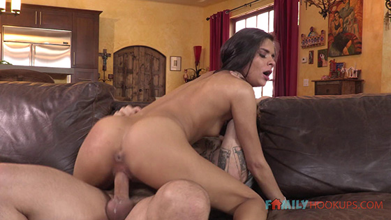 Katya Rodriguez - Fucks her older white stepdad [Family Hookups] - April 12, 2021