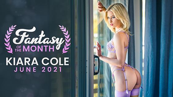 Kiara Cole - June 2021 Fantasy Of The Month [Nubile Films] - June 15, 2021