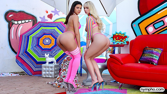 Lilly Bell, Kylie Rocket - Have 2 On 1 Fun [Nympho] - December 5, 2020