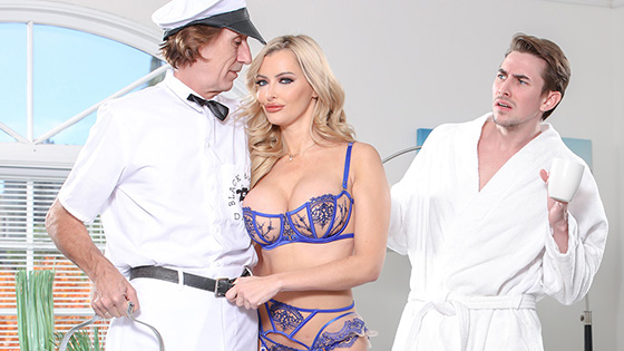 Linzee Ryder - Linzee Gets More Than Milk From The Horny Milk Man [Cherry Pimps] - May 6, 2021
