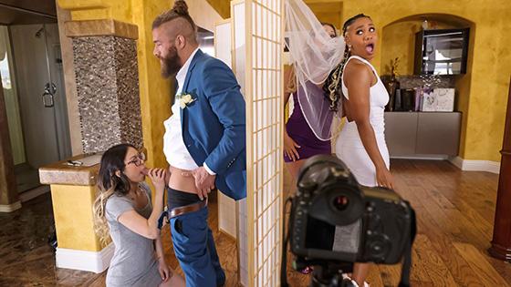 Lulu Chu, Kayley Gunner - Wedding Smashers Part 3 [Brazzers Exxtra / Brazzers] - June 28, 2021