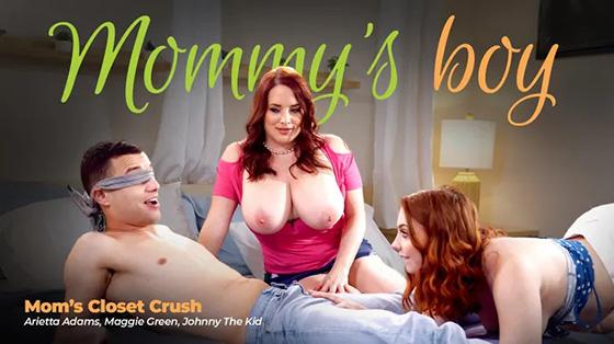 Maggie Green, Arietta Adams - Mom's Closet Crush [Mommy