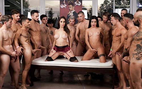 Malena Nazionale, Martina Smeraldi - Martina and Malena's 2nd 69-Cock Orgy!  [Evil Angel] - October 22, 2020