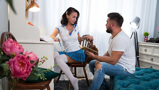 Mary Frost - Mary's Home Education [Anal Teen Angels] - March 14, 2021