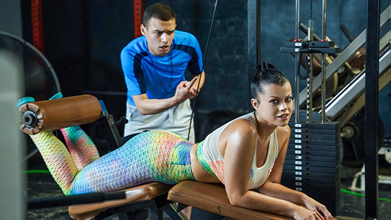 Nadia White - Next Level Workout [Milf Body / MYLF] - September 21, 2021