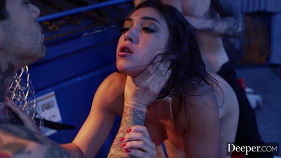 Natalia Starr, Avi Love, Adria Rae, Haley Reed - Devoured The Big Threesome Compilation [Deeper] - December 12, 2020