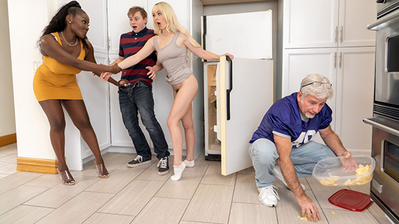 Osa Lovely, Lilly Bell - MILFs Got Good 3way Game [Brazzers Exxtra / Brazzers] - July 2, 2021