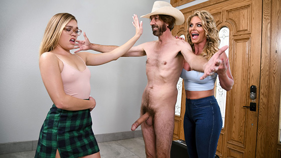 Phoenix Marie - Cum And Fuck On Our Door [Big Butts Like It Big / Brazzers] - December 3, 2020