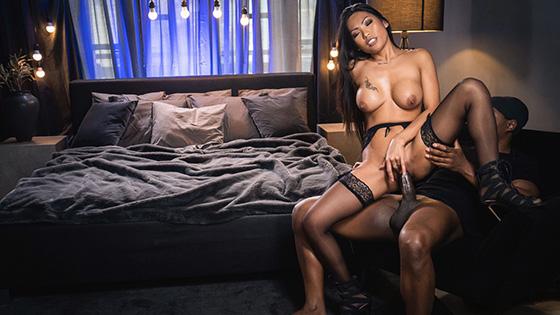 Polly Pons - Ebony Dick Fills Pretty Asian Pussy [Erotic Spice] - April 4, 2021