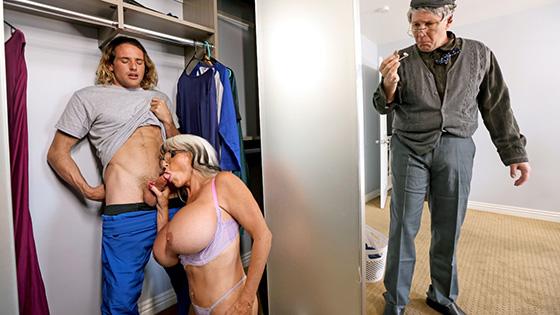 Sally DAngelo - Sneaky Grandma [Mommy Got Boobs / Brazzers] - May 4, 2021