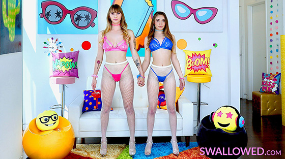 Sera Ryder, Angel Youngs - Certified Dick Suckers [Swallowed] - April 10, 2021