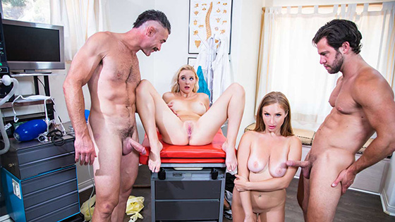 Skylar Snow, Paisley Porter - Fertility Clinic Episode 3 [Purgatory X] - January 11, 2021