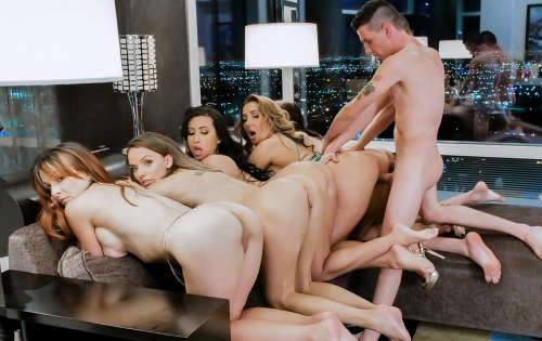 Alana Cruise, Richelle Ryan, Lily Lane, Cytherea - Divorce Party Dick Down - December 17, 2018