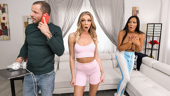 Tiffany Watson, Sybil Stallone - Trainer Wants To Fuck Part 1 [Hot And Mean / Brazzers] - May 17, 2021