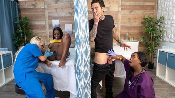 Tori Montana, Barbie Crystal, Ava Sinclaire - Fucking The Fertility Clinic Nurses: Part 1 [RK Prime / Reality Kings] - May 12, 2021