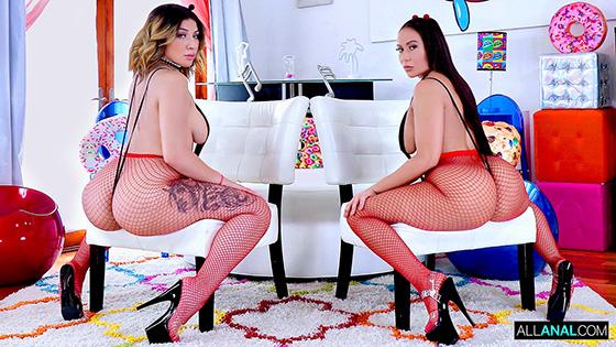 Valentina Jewels, Carmela Clutch - Big Booty Madness [All Anal] - April 6, 2021