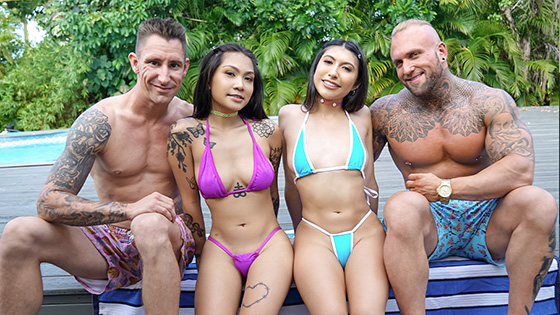 Yumi Sin, Penelope Woods - Learning For Our Stepdads [Daughter Swap] - July 21, 2021