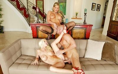 Brandi Edwards, Phoenix Marie - The Big Cock Coffee Club - May 19, 2015