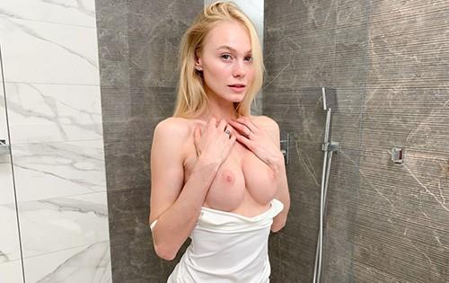 Nancy A - Sexy blonde solo shower orgasms [Dane Jones] - August 13, 2020