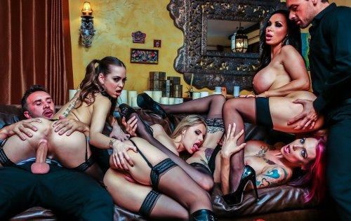 Jessica Jaymes, Mia Malkova, Nikki Benz, Chanel Preston - Hot Chicks Big Fangs #2 - October 16, 2019