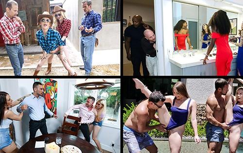 Katya Rodriguez, Joseline Kelly, Jill Kassidy, Katie Kush - Daughter Swap Compilation 4 [Team Skeet Selects / Team Skeet] - August 18, 2020